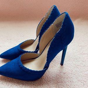 Just Fab blue heels